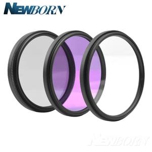 Image 2 - 55 ミリメートル UV フィルター UV CPL FLD レンズニコン D5600 D5500 D5300 D5200 D5100 D3200 D3400 D3300 AF P と DX 18 55 ミリメートルレンズ
