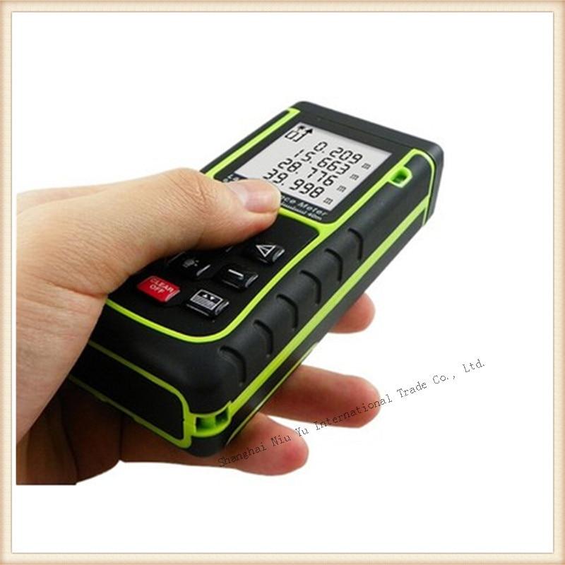 ФОТО Hot  RZ40 40m 131ft Digital Laser distance meter level Rangefinder hunting Range finder Area/volume tester Tape measuring tool