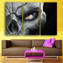 Artwork Painting The Garden Of Earthly dark darksiders death eyes skulls Silk Poster Decor Free Shipping