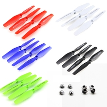 propeller for Syma X5hw X5hc Propeller With Cover Rc Quadcopter Propellers Parts Main Rotor Parts Rc Drones Helicopter Blade