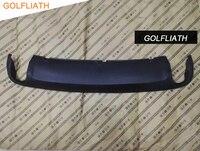 GOLFLIATH For Audi A6 Replacement Rear Bumper Lip Auto Car accessories Diffuser Fit For A6 C6 2009 2012 4F0 807 521