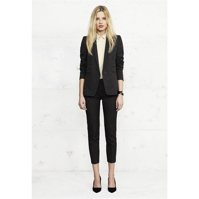9d36232c6 Black -Floral-Slim-Womens-Business-Work-Suits-Female-Office-Uniform-Evening-Tuxedo-Ladies-Formal-Trouser-Suits.jpg_640x640.jpg