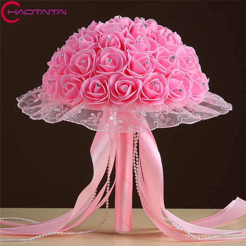 wedding bouquet 2017 new flowers top quality buque de. Black Bedroom Furniture Sets. Home Design Ideas