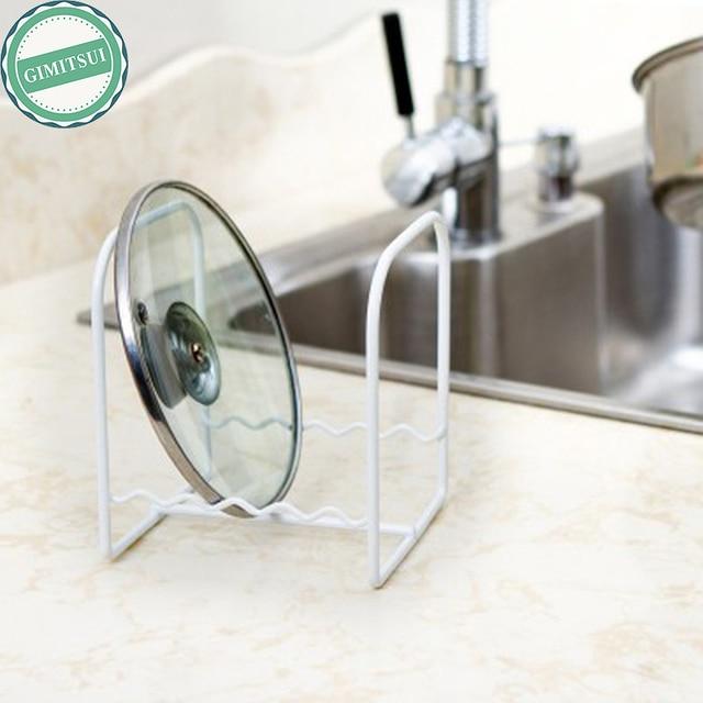 Kitchen Dish Drying Rack Anti Rust Duty Metal Iron Counter Top Saving Shelf Dish  Plate