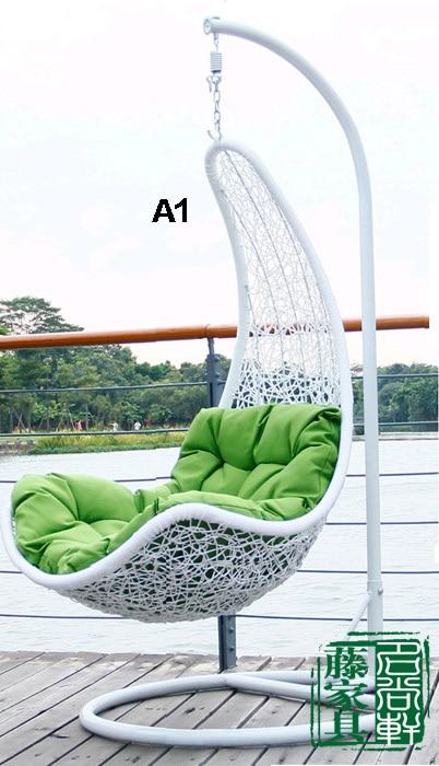 Mobili da giardino in rattan sedia rattan cesto appeso