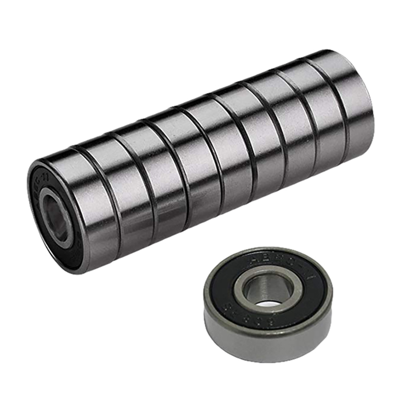 10Pcs 608 ABEC-11 Skate Scooter No Noise Oil Lubricated Smooth Skate Scooter Bearing Longboard Speed Inline Skate Wheel Bearing
