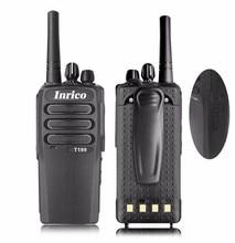 2pcs Walkie Talkie 2G /3G SIM -Card WCDMA/ GSM Network Handy Walkie Talkie T199 Two Way Radio SIM Card Public Network