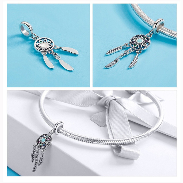 Pandora bracelet pendants en beads