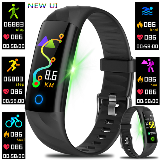 Smart Bracelet Watches Pedometer Heart Rate Monitor Blood Oxygen Fitness Tracker Sport Watch Swimming Waterproof Smart Wristband