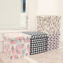 Sponge Storage Stool Multifunctional Folding Box Storage Stool Storage Box Footrest Stool Seat With Organizer For Shoe Bench free shipping pu foot square stool with storage space living room ottoman children stool kids storage box footrest