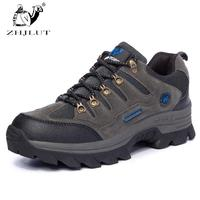 NaturalHome Brand Shoes Men Women Waterproof Outdoor Hiking Boots Climbing Walking Trekking Boot Mens Leather
