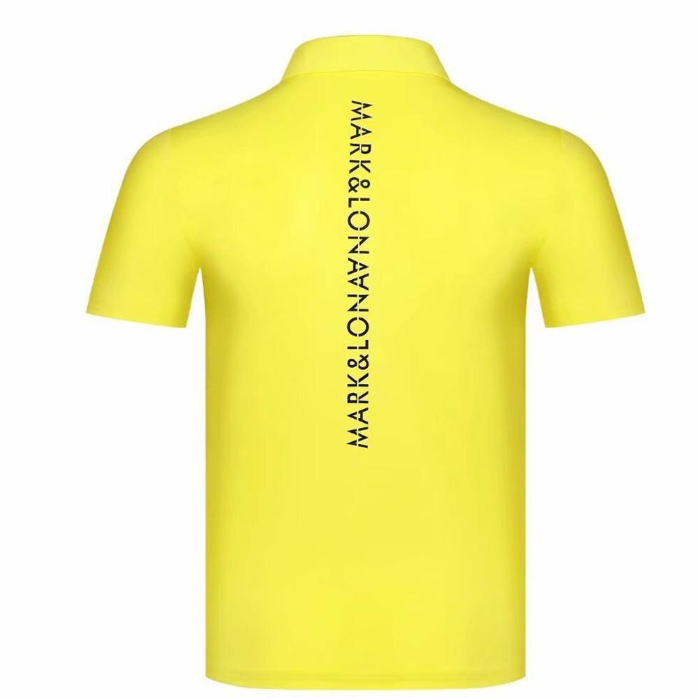 Chemise de Golf Cooyute dernière marque printemps été. T-Shirt de sport de Golf LONA manches courtes anti-boulochage T-Shirt de Golf court livraison gratuite - 5