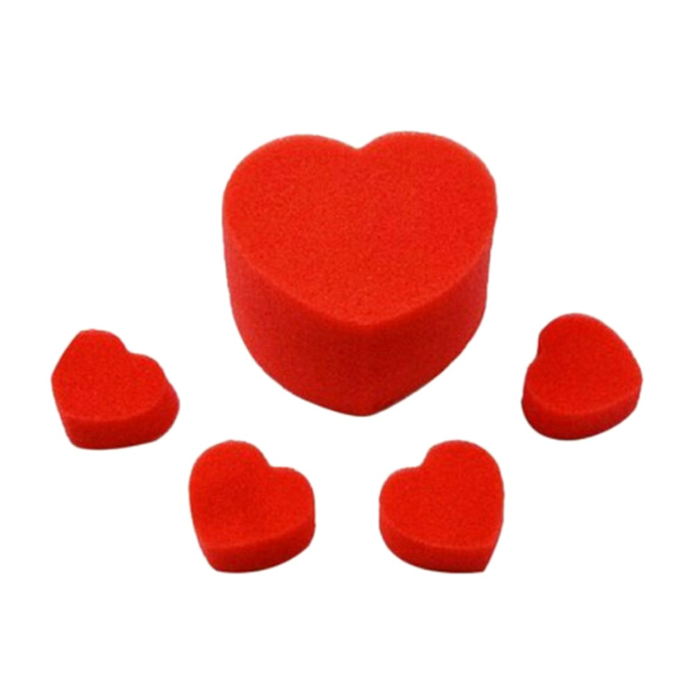 1 Set Sponge Hearts Svamp Magic Tricks Magic Set Close Up Magic tillbehör barnleksaker Gratis frakt