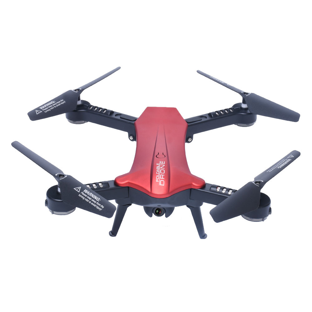 Hiinst 2.4G 6-Axis RC Quadcopter Drone With FPV WiFi 2MP Camera Foldable Altitude Hold Remote Control Toys RC Helicopter Gifts syma x8hw wifi fpv locking high rc quadcopter drone with wifi camera 2 4ghz 6 axis gyro remote control quadcopter