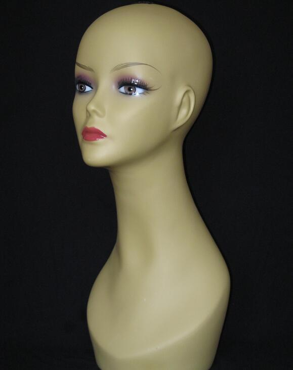New Female head mannequin for hat hair head stand,jewelry mannequin tete a coiffer pour perruque,mahekebi topc paspop,M00517