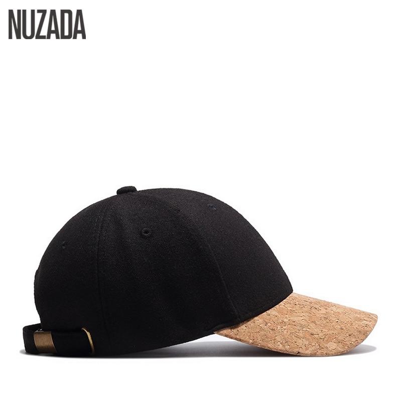 Märke NUZADA Högkvalitets Snapback Ull 54% Kvinnor Män Baseball - Kläder tillbehör - Foto 4