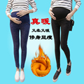 Fried snow pregnant women pants Korean velvet thicker Waichuan trousers leggings pregnant women care belly feet pants