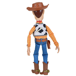 Image 4 - 40CM Disney Pixar Toy Story 3 4 Talking Woody Jessie Action Figures Cloth Body Model Doll Limited Collection Toys Children Gifts