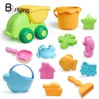 13pcs Beach Toys Sets Water Bucket Shovel Kettle Kids Children Outdoor Toy
