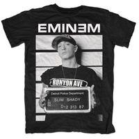 EMINEM Arrest T Shirt Men S HIP HOP RAP SLIM SHADY MUSIC Cotton Tee USA Size