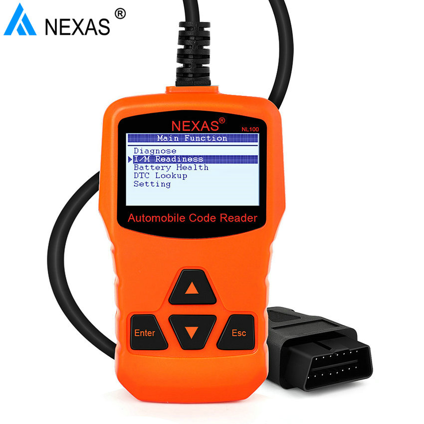nexlink nl100 obd2 automotive tools obd 2 engine analyzer. Black Bedroom Furniture Sets. Home Design Ideas
