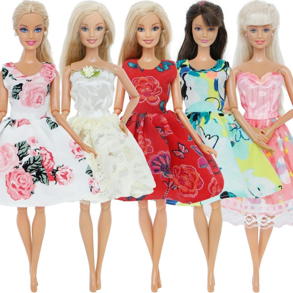 2 Pcs//set Fashion Clothes for dolls Short Skirt T-shirt Doll Accessories  OD