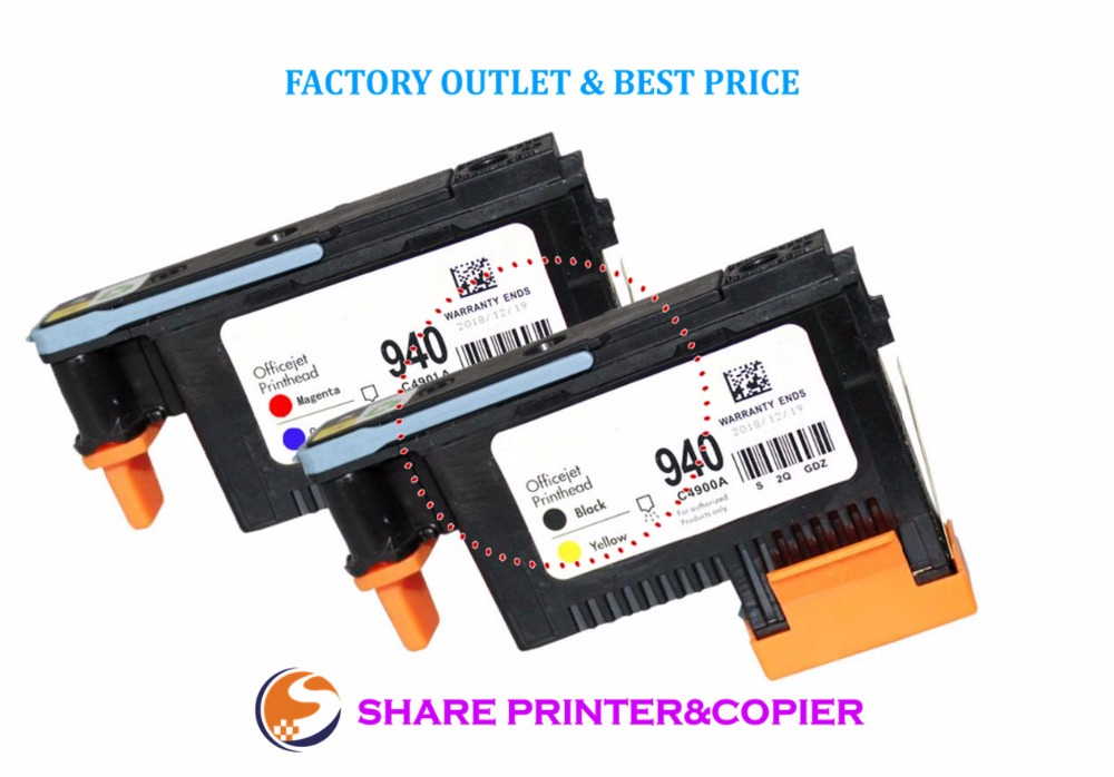 SHARE Print Head Printhead C4900A C4901A  For HP 940 Printhead Pro 8000 A809a A809n A811a 8500 A909a A909n A909g 8500A A910a