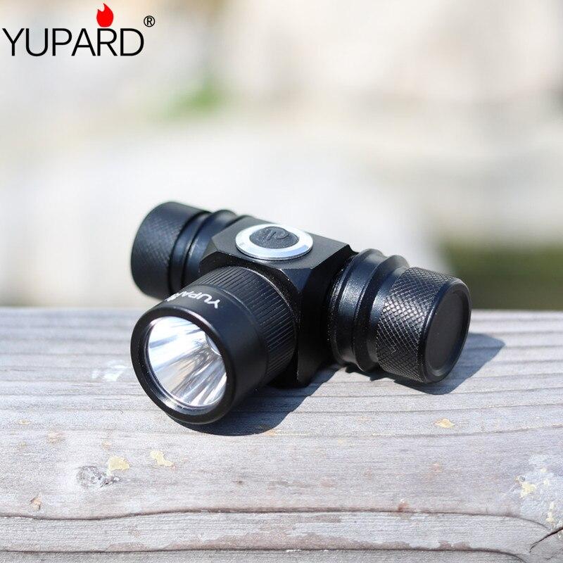 YUPARD XM-L2 LED T6 led Projecteur rechargeable 18650 batterie lampe torche 2 Mode Étanche haute puissance Camping Chasse