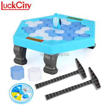 Penguin Ice Breaking Save The Penguin Fun Family Kids Toy For Children Desktop Game Who Make The Penguin Fall Off Lose This Game фото