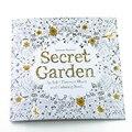 24 Páginas Jardim Secreto Edição Inglês Livro de Colorir Para Crianças Adulto Aliviar O Stress Matar Tempo Pintura Livro de Desenho