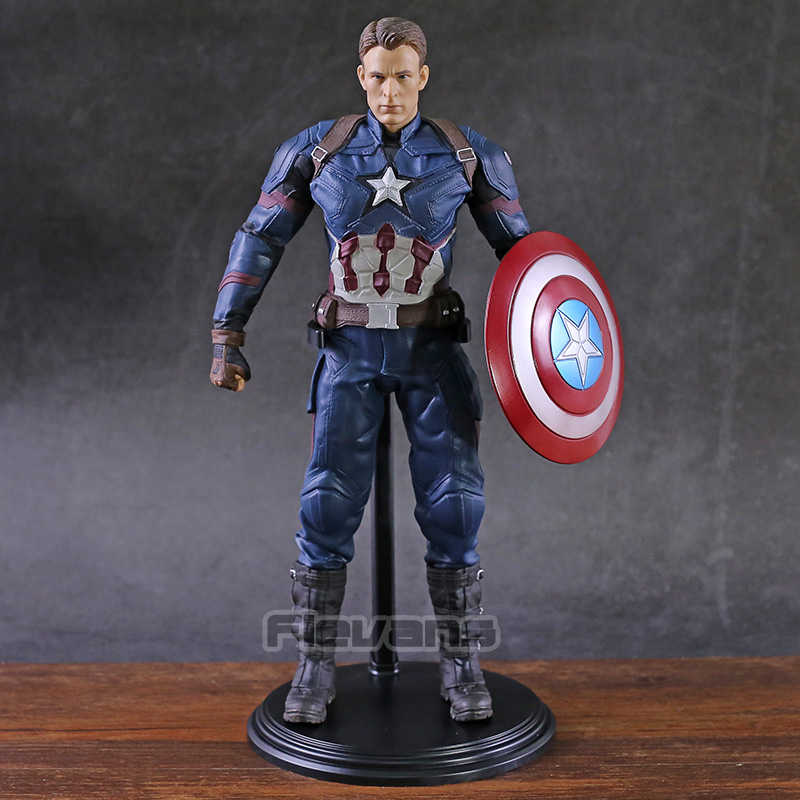 Marvel Avengers  Captain America 1/6th Scale Collectible Figure Model Toy