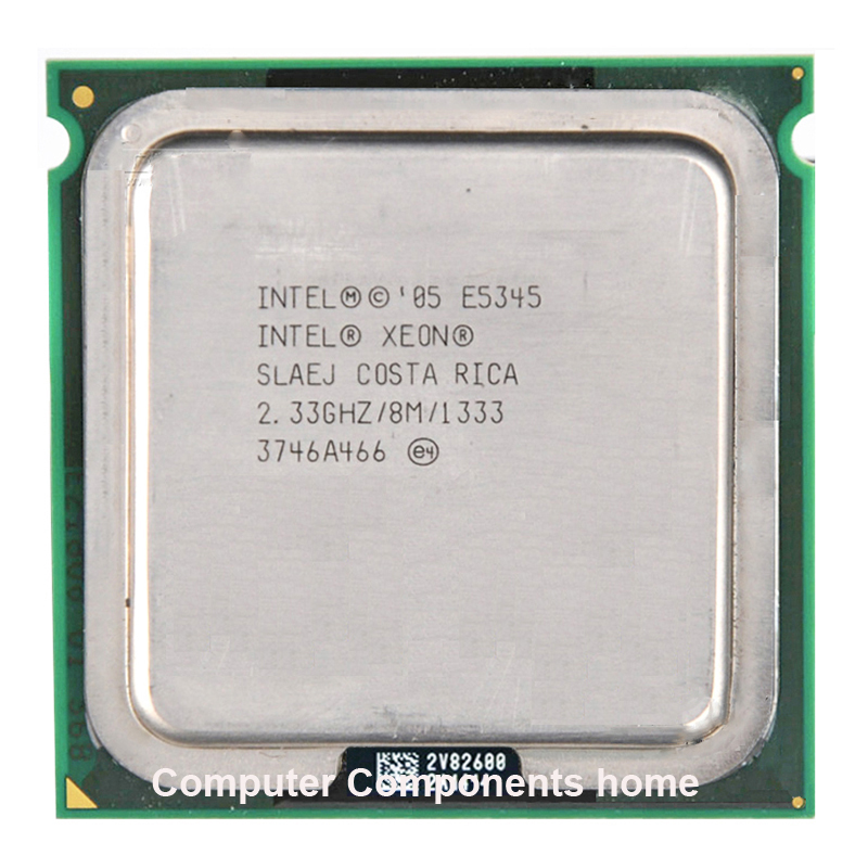 INTEL XEON E5345 LGA 775 Processor 771 To 775 (2.330GHz/12MB/Quad Core)  Warranty 1 Year