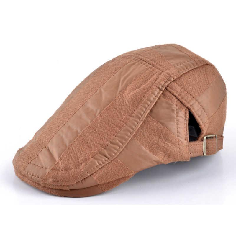 패션 소년 액세서리 가을과 겨울 멋진 플랫 캡 어린이 베레모 모자 어린이 모자 소년 브랜드 스트라이프 모자 boina casquette