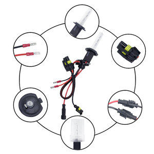 Image 4 - JAEHEV 35W 55W 12V Xenon Light Bulb H1 H3 H7 H11 880 H27 9005 9006 HID Car Headlight Auto Slim Ballast Headlamp Kit