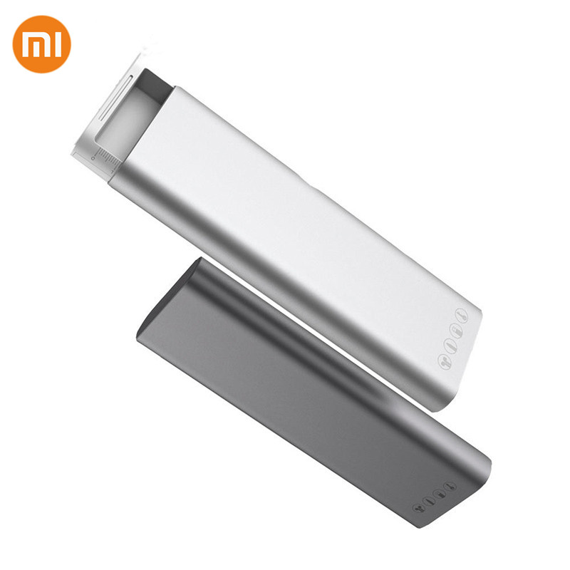 Xiaomi Multifunction Miiiw Pencil Case Aluminum Alloy ABS+PC Press Pop-up Switch For Apple Pencil2 Earphone Data Cable Daily Use