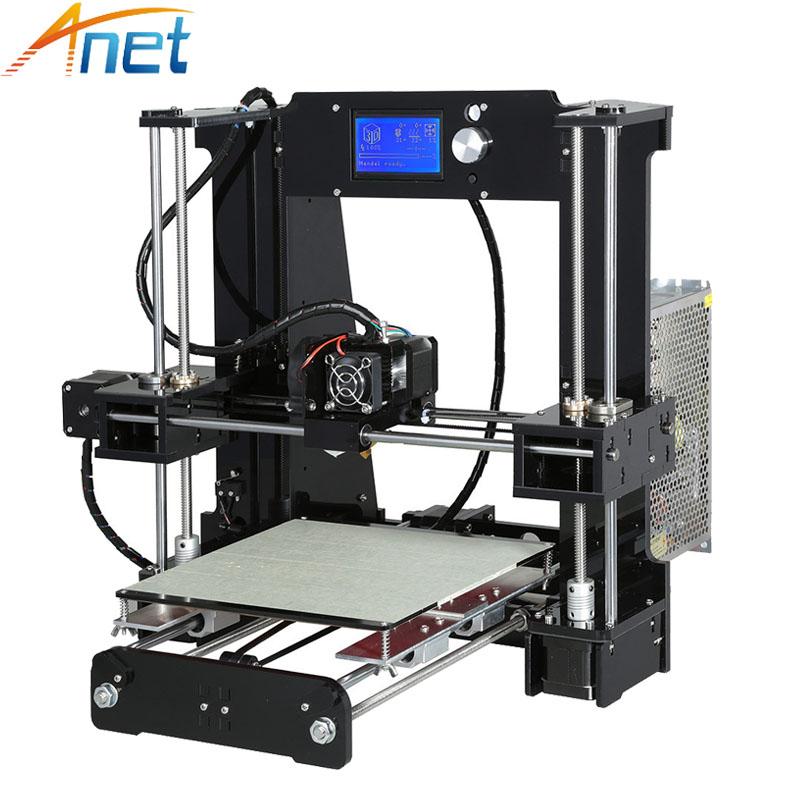 Easy Assemble Reprap prusa i3 3D printer Kit DIY Anet A6 Normal A8 3D Printer with