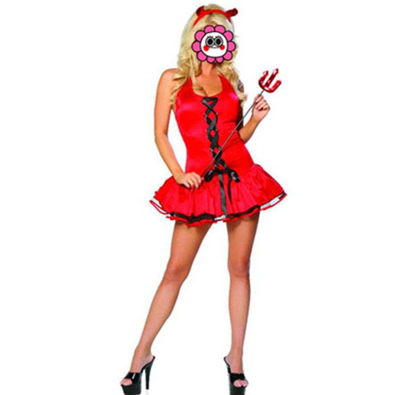 ộ_ộ ༽Hot fantasia monstruo Ángel sexy Club trajes de Carnaval de ...