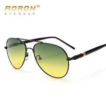 Día Y Noche de Doble Propósito Reflejo de Defensa Hombres gafas de Sol Polarizadas gafas de sol de moda UV400 gafas de sol gafas oculos