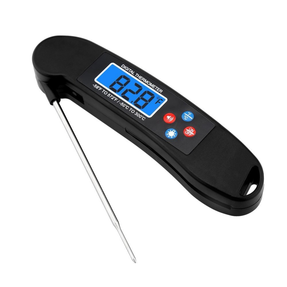 DTH-104A voice barbecue thermometer, new folding cooking thermometer