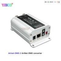 سريع الشحن ltech dc12v تحويل artnet-dmx ؛ Artnet-DMX-2 ؛ artnet المدخلات؛ dmx 1024 قنوات الانتاج 512 * 2ch قناة