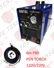 CNC P80 Straight Torch 6M 3 IN 1 Multifunction 520TSC Pilot arc 110 220V dual Voltage