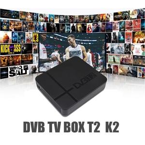 Image 2 - Vmade DVB T2 high digital terrestrial signal receive dvb t2 k2 support H.264 YouTuBe Megogo dvb tv box full hd 1080p set top box