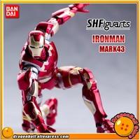 Marvel The Avengers 2 Age of Ultron Original BANDAI Tamashii Nations SHF/ S.H.Figuarts Action Figure Iron Man MK43 / Mark 43