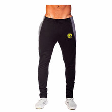 New 2017 Golds Fitness mens gyms Pants Men Fashion cotton Sweatpants sporting Joggers Trousers Casual Skinny Fitted Bottoms