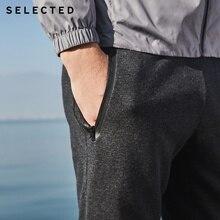 купить!  SELECTED летние новые мужские хлопчатобумажные спортивные лучевые брюки S