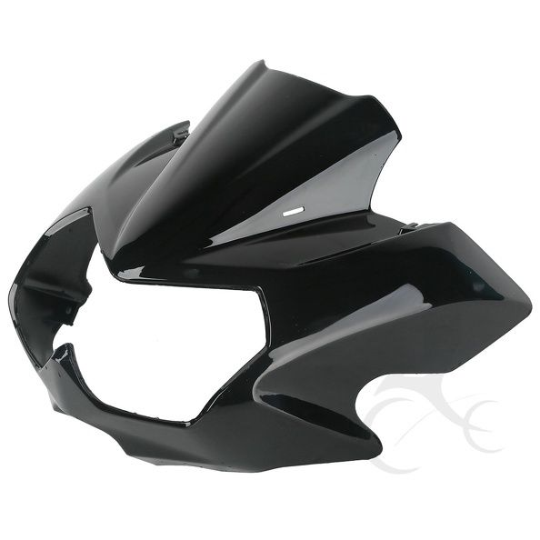 Motorcycle Vivid ABS Upper Front Fairing Cowl Nose Cockpit Mask For Kawasaki Z750N 2004 2006 05