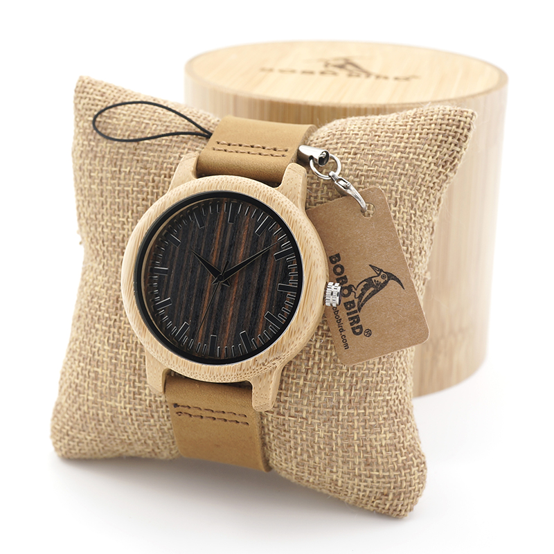 BOBO BIRD Natural Wood Bamboo Watches Mens Womens Vintage Wooden Watch With Genuine Leather Band jane ouma alternative approaches to pedagogy