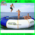 High quality inflatable water trampoline float/exciting jumping trampoline/cheap trampoline for sale