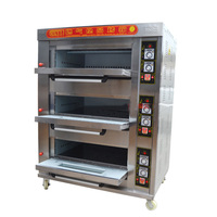 1 Layer 1 Pan 2 4  3 6tray 9trays pans Commercial Gas Baking Oven Good Quality 400*600mm