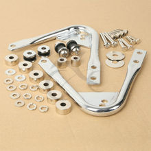 motorcycle accessory PACK Docking Hardware Kit For Harley Tour Pak Touring Models Road King Electra Glide
